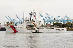 USCGC Active (WMEC-618) (PhantomPhan1974 Photography) Tags: uscgc 618 active wmec618 portofla portoflosangeles san pedro sanpedro municipalwarehouse waterfront harbor cutter uscg ship homelandsecurity