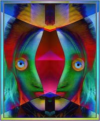 Head to Rent ..... Unfurnished ....... Month in Advance (Joe Vance aka oliver.odd) Tags: art abstract surreal mirror color vivid ideas popart head unfurnished