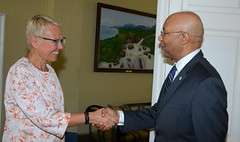 EU Head Presents Credentials to GG