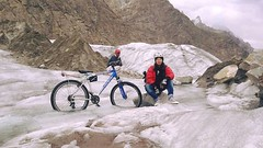 Developing Pakistan! (DPakistanOfficial) Tags: pakistan karakoram mountains range travel cyclist cycling tourism women adventure