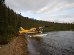 """Our """"rescue"""" plane"""