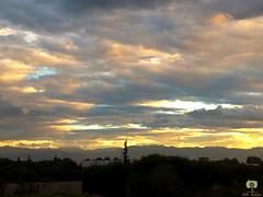 Coucher de soleil sur l'arrire-pays algrois (Ath Salem) Tags: alger algrie tempte coucher de soleil sunset mosque masjid hassen ibn thabit oued smar bab ezzouar nuages lumires epoustouflant montagnes