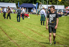 Boy with a message (FotoFling Scotland) Tags: argyll event lochlomond scotland highlandgames justdoit leegoodfellow luss lusshighlandgames