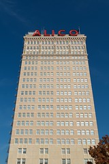 ALICO (dangr.dave) Tags: waco tx texas downtown historic architecture mclennancounty alico tower neon neonsign