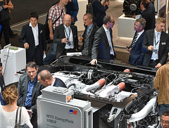 Innotrans2016_13 (Rolls-Royce Power Systems AG) Tags: mtu innotrans rollsroyce power systems rail bahn locomotive engine powerpack