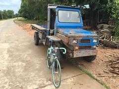 Myanmar, Yangon Region, Southern District, Kawhmu Township, Hnget Aw San Village Tract (Die Welt, wie ich sie vorfand) Tags: truck trucks myanmar burma bicycle cycling surly steamroller rangoon yangon yangonregion southerndistrict kawhmutownship kawhmu hngetawsan