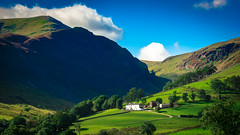 A little cottage (Barry.Turner.Photography) Tags: cumbria lake district uk england sony a65 sigma1020mm landscape sigma outdoor serene building grass grassland field mountain plant barry turner wide angle