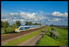 Eurostar 4013/4014, Willemsdorp 11-07-2016 (Henk Zwoferink) Tags: eurostar ns nsr nsi international db moerdijk brug bunker willemsdorp siemens velaro uk henk zwoferink 4013 4014