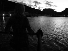 Darsena de botes.Cartagena.Murcia (Ruben Juan) Tags: mar puerto night noche sea paisaje canon canonista cartagena murcia espaa spain