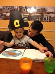 Thanksgiving crafts from preschool