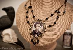 83_Etsy-1 (Alternate History Designs) Tags: history hair bottle purple heart handmade gothic victorian jewelry fantasy absinthe anatomy bones macabre etsy apothecary poison cogs gears alternate steampunk alternatehistory