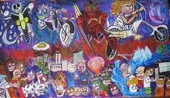 4 Horsemen (edited) (Emesis_Rex) Tags: art metal illustration warning religious death holocaust war punk apocalypse nuclear horsemen christian disaster future bible myth warming conquest famine global