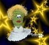 Marilyn Monroe (Malen Alomar /malenojodoro) Tags: lana crochet hilo amigurumi elgordoyelflaco cactuscrochet amigurumicineclásico cactusmarilinmonroe