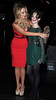 Catherine Tyldesley and Paula Lane at the 'Coronation Street' Christmas party Manchester