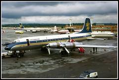 "G-ATMA Caledonian Airways ""County of Midlothian"" (Bob Garrard) Tags: bristol 314 airways 175 britannia caledonian lgw egkk gatma countyofmidlothian"