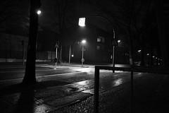 Gartenstrae Nachts (lozanofed) Tags: nacht fotos sw dunkel nachtfotografie gartenstrase