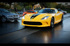 Dodge SRT Viper, Cars and Coffee, Irvine, California (Kevin Ho 車 Photography) Tags: california boss usa cars ford coffee muscles yellow america honda unitedstates american dodge mustang gt orangecounty oc viper corvette supercar irvine lfa freaks nsx lexus horsepower supercharged gt40 srt topgear 2013 carsandcoffee