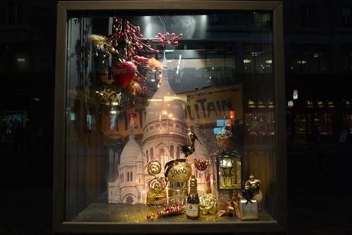 Vitrines de Noel de Globus - Genève, novembre 2012