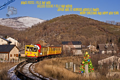 Train Jaune en Ur (UT440 131M) Tags: train canon tren photography eos navidad photo europa europe mark transport fiestas frana railway zug national ii 1d ur tamron francia roussillon serie languedoc trainspotting coches spotting ferr sncf ferrocarril aleix felices ter curva trainspotter alco spotter z100 defer corts pyrnnes ffcc rgional rff trainjaune societ af55200 delafrance centenarios canonistas resau exprss ferrocat deschemins oryntales trrengroc