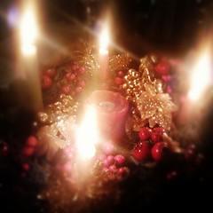 ltimo domingo de Adviento (Jaycer17) Tags: christmas square navidad advent lofi squareformat adviento coronadeadviento iphoneography instagramapp uploaded:by=instagram