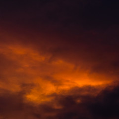 Stormy sunset I (cristinaruncan) Tags: sunset newzealand summer sun storm abstract colour clouds redcoral nikond90