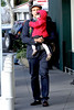 Billy Zane and daughter Ava Katherine Zane out and about at The Grove Los Angeles, California
