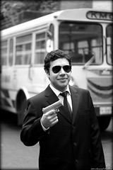 Mafia Day 2012 (Syed Sarmad Bukhari) Tags: bus college sunglasses medical suit handgun mafia khyber kmc