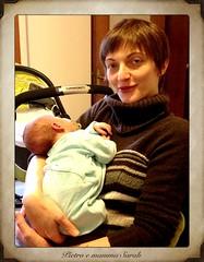 Sarah con Pietro (manaux) Tags: neonato