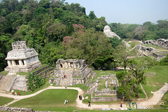 Mayan Ruins at Palenque, Temple of the Cross - Chiapas, Mexico (uncorneredmarket) Tags: mexico maya mayanruins palenque chiapas mayanculture templeofthecross mayanpyramid