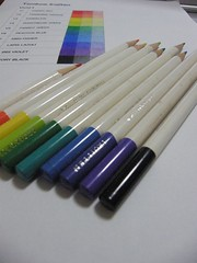 2012_12_13_color_sample_03 (blue_belta) Tags: chart art coloredpencil   colorchart tombow   irojiten