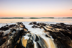 As it all draws to a close. (Matthew Post) Tags: ocean longexposure sunset seascape beach seascapes post matthew wave australia queensland sunshinecoast sigma1020mm maroochydore alexandraheadland canon60d matthewpost
