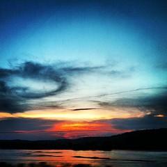 #Sunset na terrinha  #RioDoce