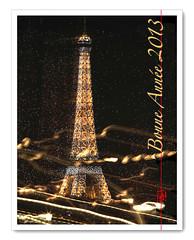 La Tour Eiffel ....au Champagne (mamnic47 - Over 7 millions views.Thks!) Tags: illuminations toureiffel poselongue photodenuit img9848 cartedevœux effetzoom noël2012 effetchampagne