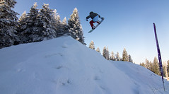 Pepo fs3 tail on World Snowboarding Day, Borovets 30.12.12 (Lyubo Yanev) Tags: mountain rila snowpark borovets