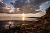 K7_11067 (Bob West) Tags: sunset ontario clouds cloudy k7 rondeauprovincialpark southwestontario bobwest rondeaubay pentax1224