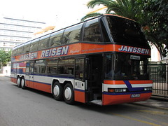PA270144 Janssen Reisen, Wittmund WTM-J597 (Skillsbus) Tags: history buses germany spain janssen coaches neoplan megaliner