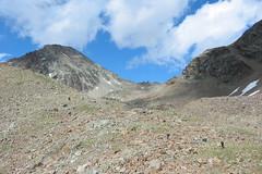 Il monte Emilius (Emanuele Lotti) Tags: italy mountain montagne trekking italia hiking 8 valle 2006 monte tre alpi montagna aosta monti luglio passo cappuccini escursionismo escursioni arbolle emilius graie
