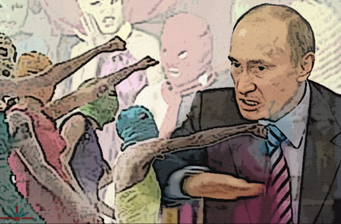Pussy Riot Putin by AK Rockefeller, on Flickr