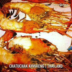 กุ้งแม่น้ำเผา #instaplace #instaplaceapp #instagood #photooftheday #instamood #picoftheday #instadaily #photo #instacool #instapic #picture #pic @instaplaceapp #place #earth #world  #thailand #chatuchakkhwaeng  #day