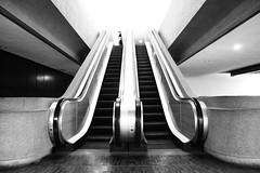 Up or Down (lovine) Tags: otis philippines escalator manila ccp
