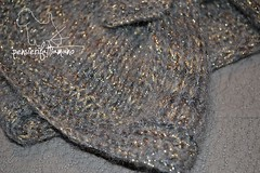 completo_lame_8 (pizzatomariacristina) Tags: lana knitting handmade cloche maglia ferri mohai berretto fattoamano lamè