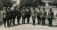 German Army Officers In Uniform V1 (80s Muslc Rocks) Tags: germany boots military 1940s german ww2 uniforms officer officers breeches steelhelmet