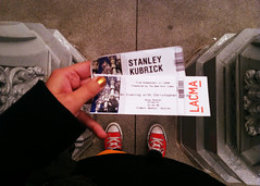 January 4, 2013 (mrbosslady) Tags: california red tickets unitedstatesofamerica megan erika 365 lacma 2013 whereistand