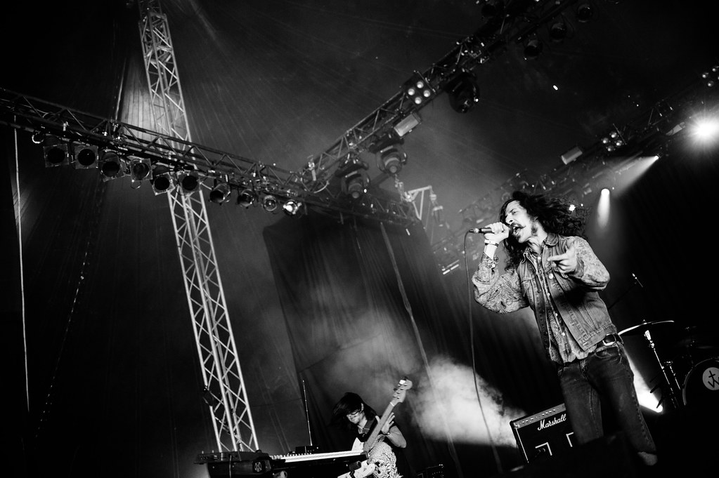 Turbowolf Live Concert @ Dour Festival-7 by Kmeron, on Flickr