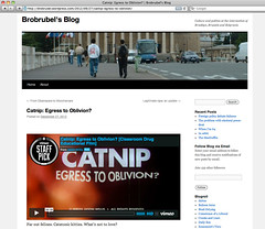 Brobrubel's Blog - Catnip: Egress to Oblivion?