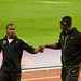 Usain Bolt & Yohan Blake-London 2012