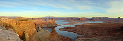 Alstrom Flat (Damien Seidel) Tags: sunset arizona panorama usa southwest america landscape utah butte afternoon desert panoramic mesa goldenhour lakepowell glencanyon alstrompoint