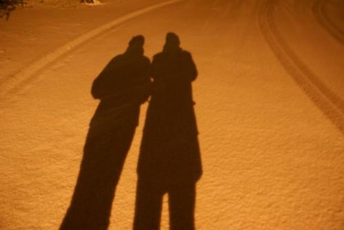 ombre neige
