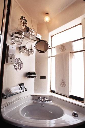Venice-Simplon-Orient Express - washbasin