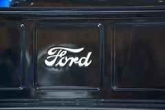 Classic Ford (Bridge356) Tags: auto show usa black detail classic cars ford truck silver gold michigan detroit center f1 event trim 1949 naias cobo 2013